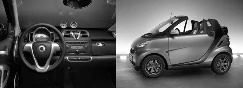 Smart ForTwo convertible automatic