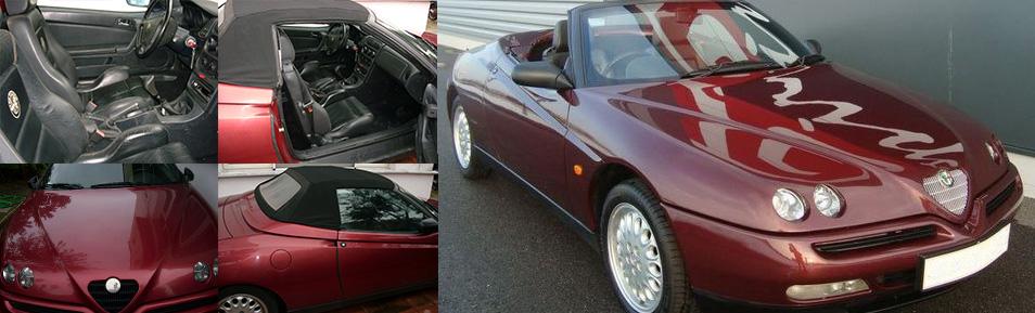 Alfa Romeo GTV convertible