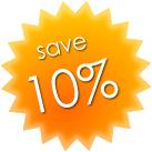 10 percent discount on Sorrento Car Rent rates
