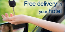 Free delivery in Airport with Naples Car Rent