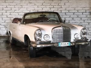 Mercedes 220 SE 1962 convertible