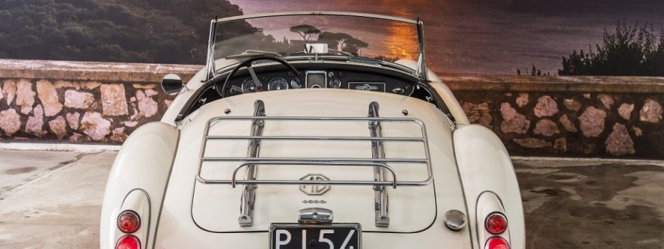 MG A Spider Twin Cam 1959