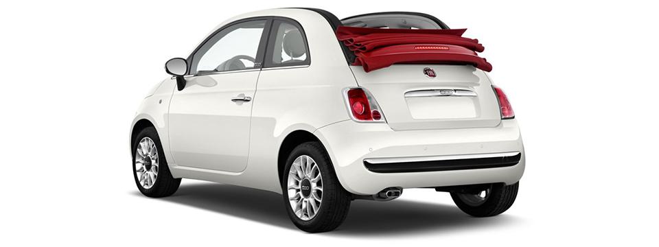 Fiat 500 convertible